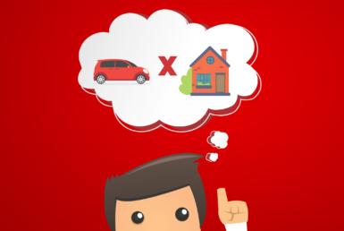 comprar casa ou carro