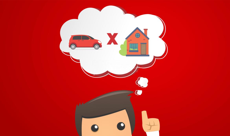 Comprar uma casa ou um carro novo? Descubra o que vale mais a pena!