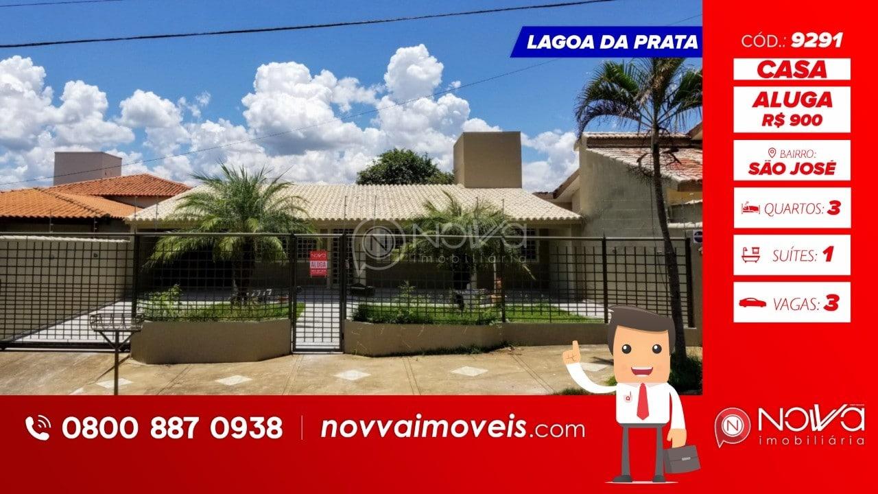 Excelente casa para locação em Lagoa da Prata no bairro São José